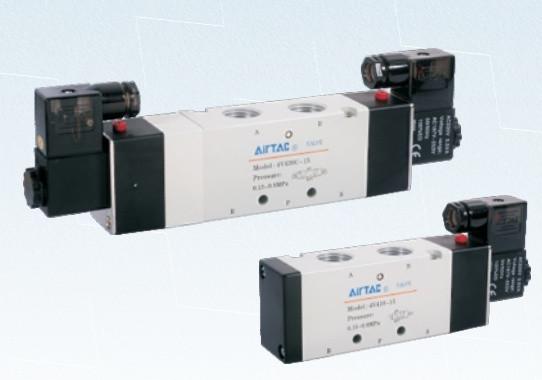 4V410-15 Пневмораспределитель(Электромагнитный клапан)