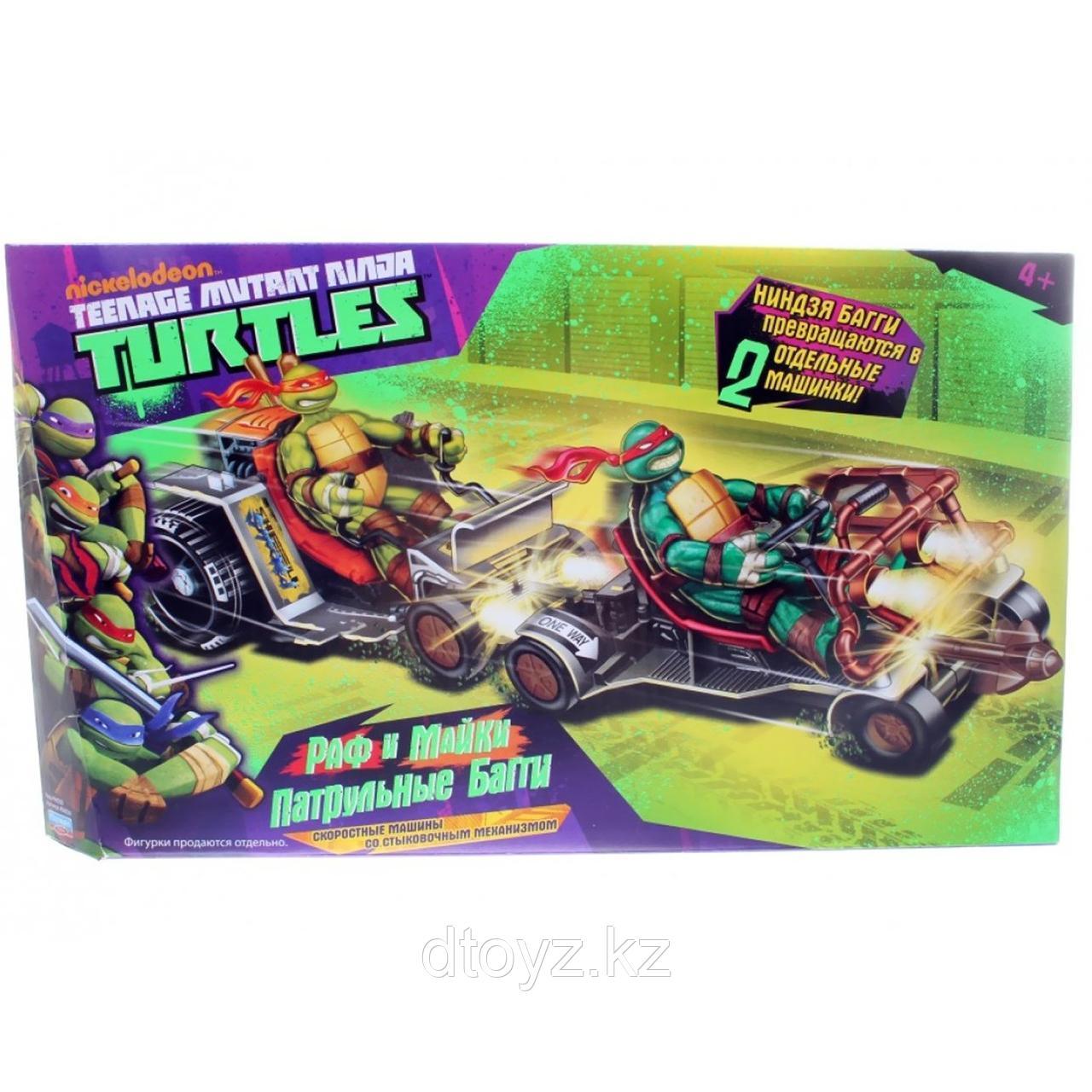 Машины Ninja Turtles(Черепашки Ниндзя) Багги патрульные Раф и Микки 94034