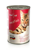 Влажный корм для кошек Bewi-Cat Meatinis Poultry из мяса домашней птицы