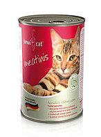 Влажный корм для кошек Bewi Cat Meatinis Venison из оленины