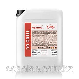 D9 Grill- Cредство для чистки духовых шкафов и грилей, 5 л