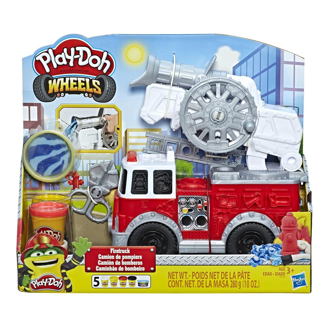 Hasbro Play Doh Игровой набор Пожарная Машина, Плей До