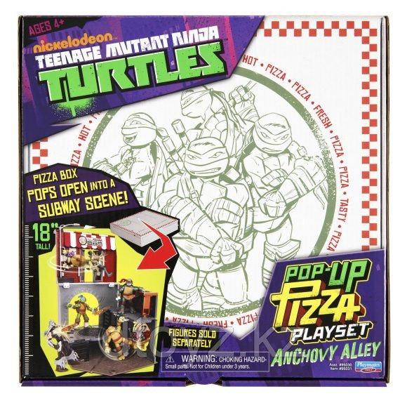 Игровой набор Ninja Turtles - Анчоусная. Черепашки Ниндзя (без фигурок)
