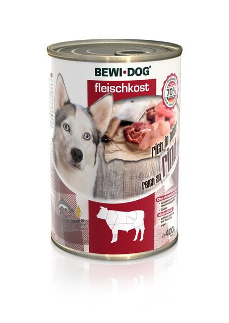 Влажный корм Bewi-Dog