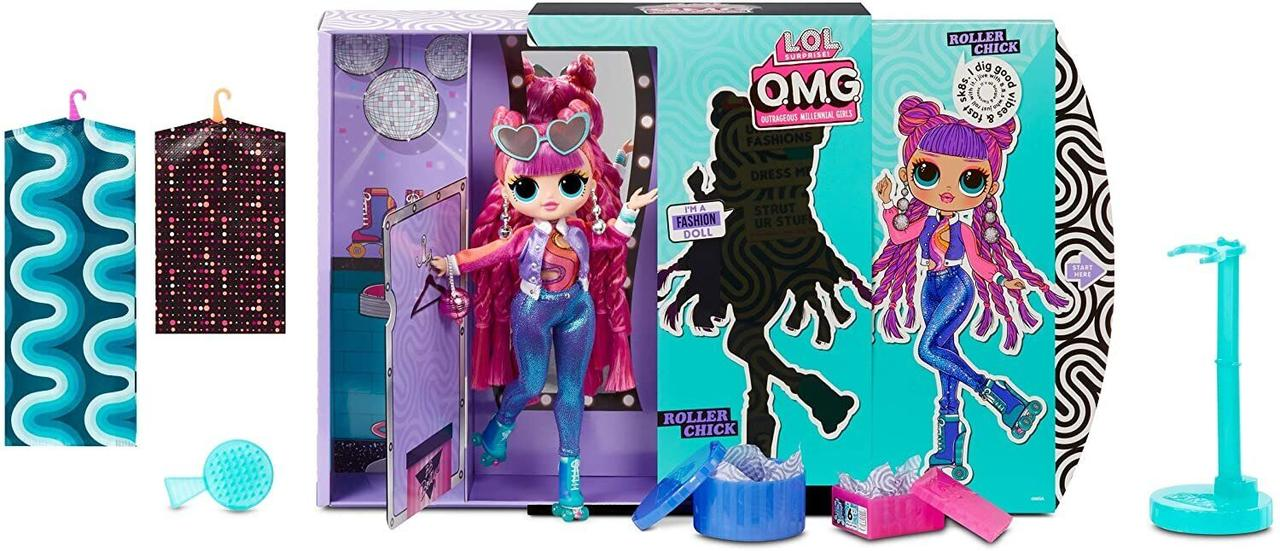 LOL OMG Модная Кукла Диско-Скейтер (Roller Chick), 3 серия, ЛОЛ ОМГ Сюрприз - фото 5