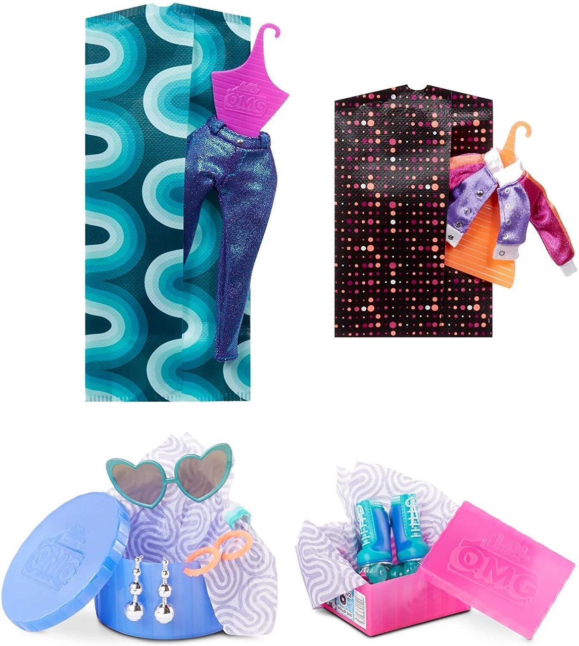 LOL OMG Модная Кукла Диско-Скейтер (Roller Chick), 3 серия, ЛОЛ ОМГ Сюрприз - фото 6