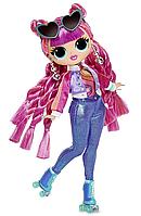 LOL OMG Модная Кукла Диско-Скейтер (Roller Chick), 3 серия, ЛОЛ ОМГ Сюрприз