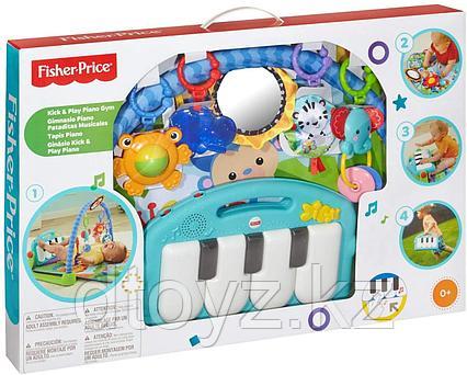 Fisher-Price Коврик Пианино зеленый BMH49