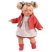 Кукла Llorens Аитана 33 см. блондинка в красном жакете