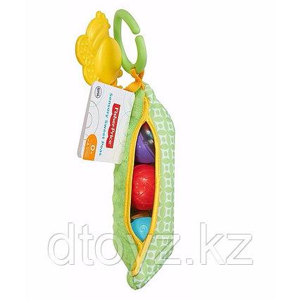 """Fisher Price Мягкая игрушка с погремушками и прорезывателем """"Горошек"""" DRD79"""