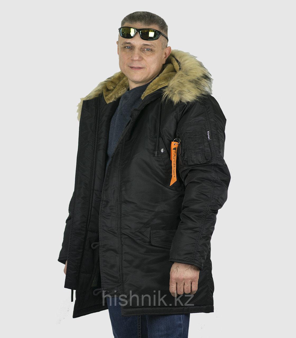 Куртка мужская HUSKY BLACK/BLACK