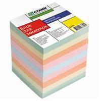 Блок для заметок цветной 9*9*9  Б319 СТАММ