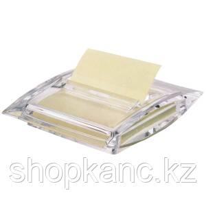 Подставка для бумажных блоков(диспенсер) LUFTELEGIE,акрил 75*75, Z - склейка, прозрачный
