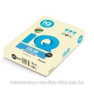"Бумага ""IQ Color"" Pale BE66, ванильно-бежевый ,формат А4, пл-ть 160 гр/м2, 250 листов. 130197"