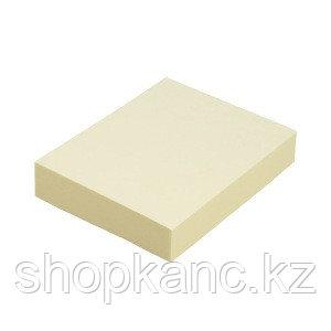 """Клейкая бумага д/заметок (38*50 мм) 100 листов, желтая """"Proff"""", 03 шт./в упак(PF-3850-02)"""