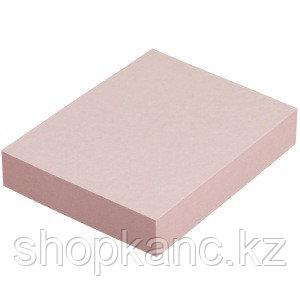 """Клейкая бумага для заметок (38*50 мм) 100 листов, розовая """"iOffice"""", 03 шт./в упак(I-3850-12)"""