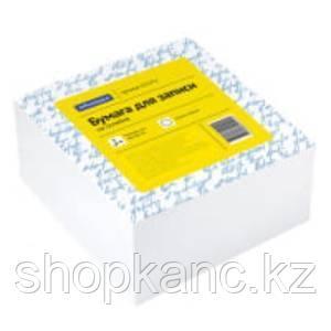 Блок для записи на склейке OfficeSpace, 9*9*4,5см, белый