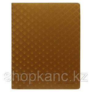 Ежедневник недатированный,160 л,120 х 169 мм, цвет золотистый.