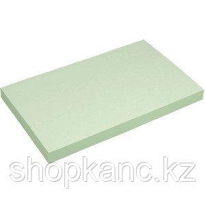 """Клейкая бумага для заметок (76*127 мм) 100 листов, зеленая """"Proff"""""""