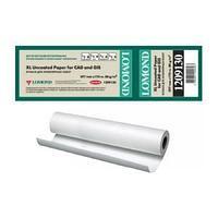 Ролик бумажный для плоттера, Lomond матовая Standart, 297 mm x 175 m x 76 mm.