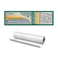 Ролик бумажный для плоттера, Lomond Premium, 420 mm х 175 mm х 76 mm, 80 г/м2