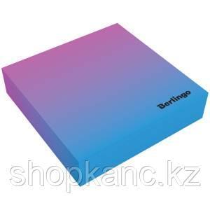 """Блок для записи декоративный на склейке Berlingo """"Radiance"""" 8,5*8,5*2, голубой/розовый, 200л."""