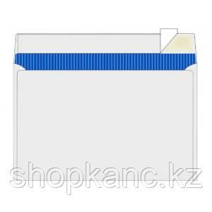 Конверт, С5 mini (155 х 220), 75 гр/м2, без окошка, отрывная полоса по длинной стороне, тангир.