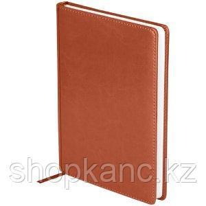 """Ежедневник датированный 2021г., A5, 176л., кожзам, OfficeSpace """"Nebraska"""", коричневый"""