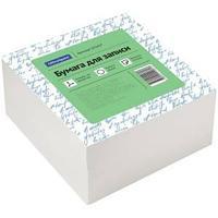 Блок для записи OfficeSpace, 9*9*4,5см, белый, белизна 70-80%