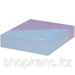 """Блок для записи декоративный на склейке Berlingo """"Haze"""" 8,5*8,5*2, сиреневый/голубой, 200л."""