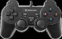 Геймпад Defender Omega USB  12 кнопок  2 стика