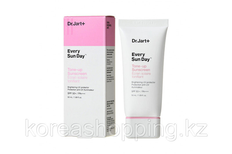 Тонирующий солнцезащитный крем Dr.Jart+ Every Sun Day Tone-Up Sunscreen SPF50+ PA+++  (50 ml)