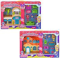 """Barmila: Игр.н-р """"Домик для мини-куклы"""" с 2 куклами, в ассортименте"""