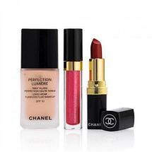 Набор декоративной косметики подарочный «Chanel MakeUp Set» 9-в-1, фото 3
