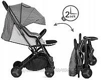 Портативная автоскладная коляска(серый,серо-черный,черный), фото 3