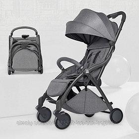 Портативная автоскладная коляска(серый,серо-черный,черный)