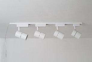 D01 Трековый светильник  LED  белый 20W 60*H160