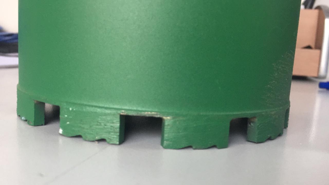 Алмазная коронка ф 152 мм