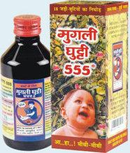 Сироп Мугли гутти (Mugli Ghutti 555, Shri Ram Ayurved Bhawan) - иммунитет 100мл, расстройство пищеварения