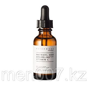 Сыворотка Asterwood Naturals с матриксил 3000, аргилерин и витамином С. 30 мл