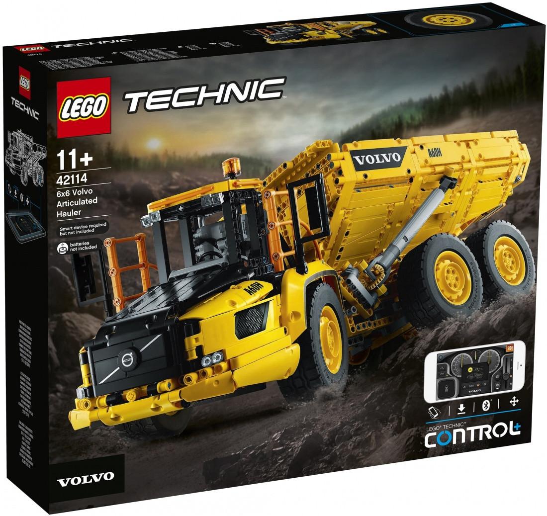 42114 Lego Technic Самосвал Volvo 6х6, Лего Техник