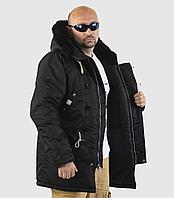 Куртка мужская SAPPORO BLACK/BLACK, фото 1