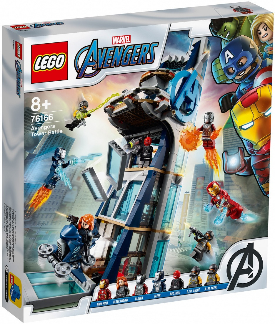 76166 Lego Super Heroes Битва за башню Мстителей, Лего Супергерои Marvel