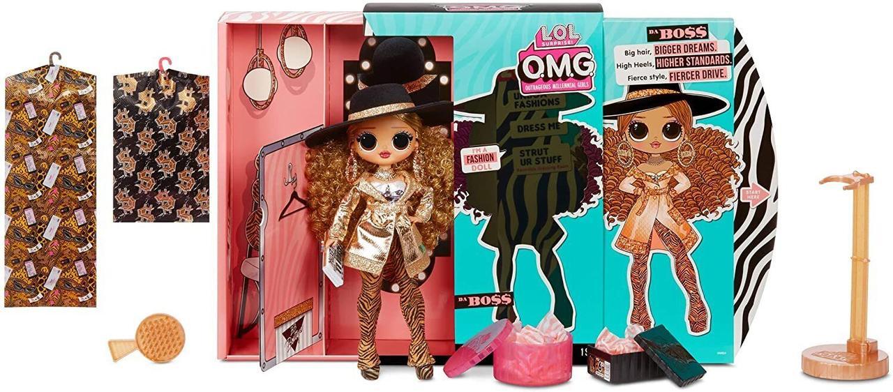 LOL OMG Модная Кукла Леди Босс (Da Boss), 3 серия, ЛОЛ ОМГ Сюрприз