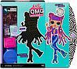 LOL OMG Модная Кукла Диско-Скейтер (Roller Chick), 3 серия, ЛОЛ ОМГ Сюрприз, фото 5