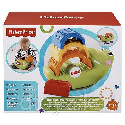 Пирамидка Fisher Price Крокодильчик CDC48