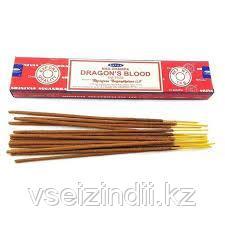 Натуральные благовония dragon blood,Сатья Саи Баба.  15гр