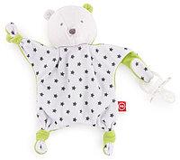 Игрушка - держатель Bear Holder для пустышки (Happy Baby, Великобритания)