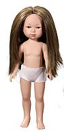 Карлота без одежды(с темными волосами)