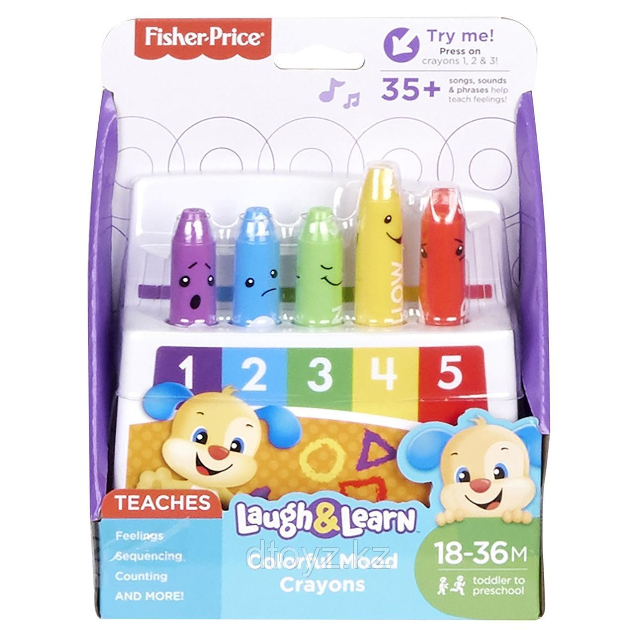 Смейся и учись Fisher Price Обучающие карандаши FBP59